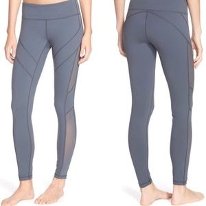 Zella Grey Mesh Leggings